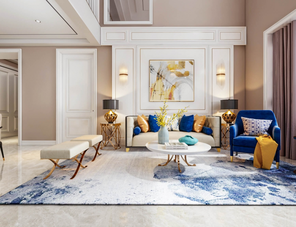 3d interior home rendering services
