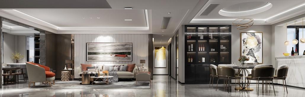 3d interior house design rendering services