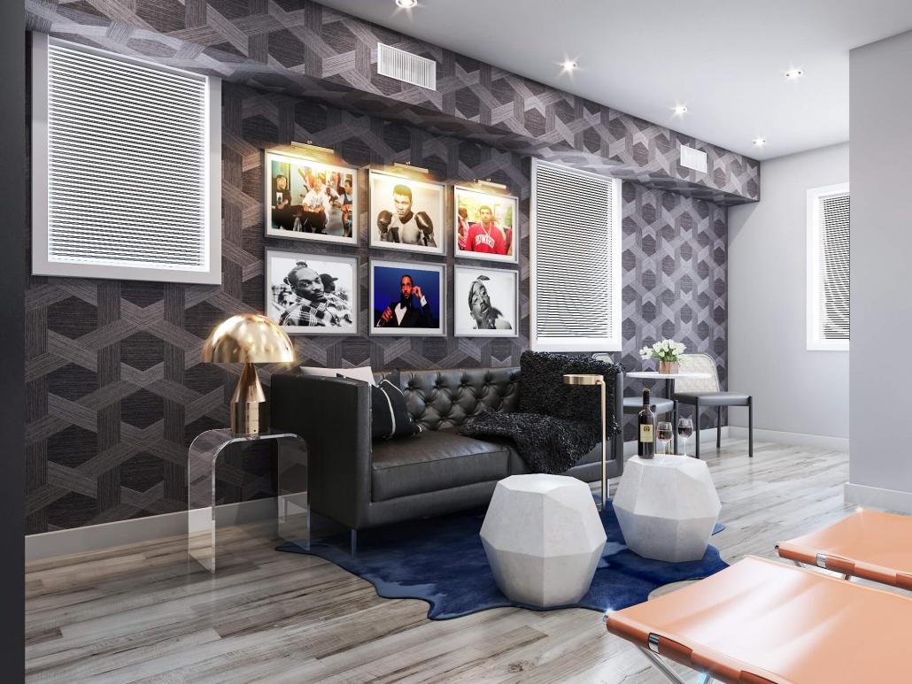 3d interior house rendering