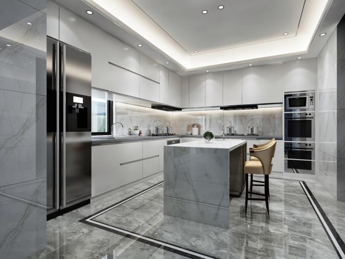 3d interior house visualization