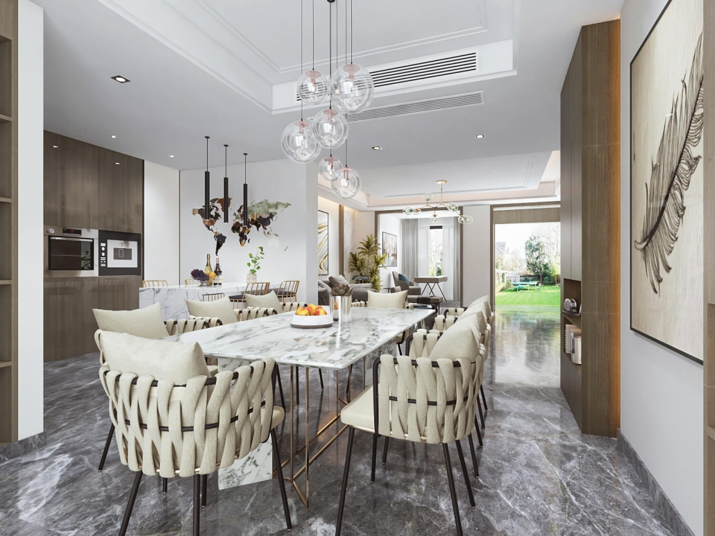 3d interior visualisation house