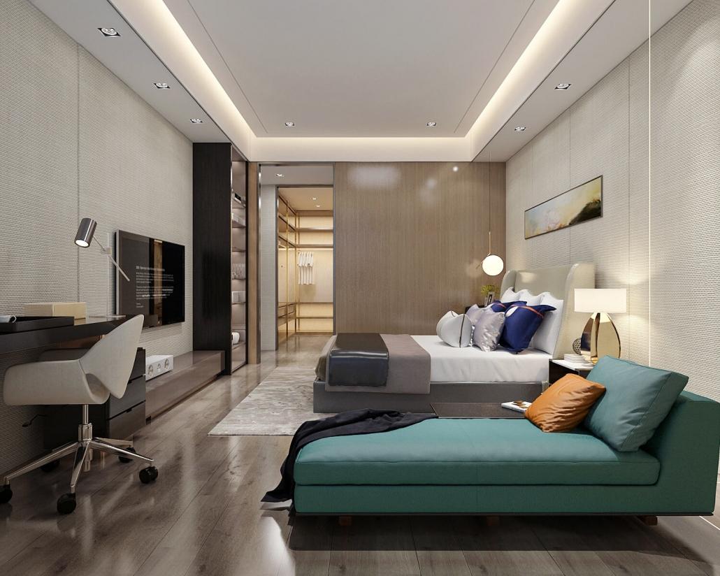 3d room rendering