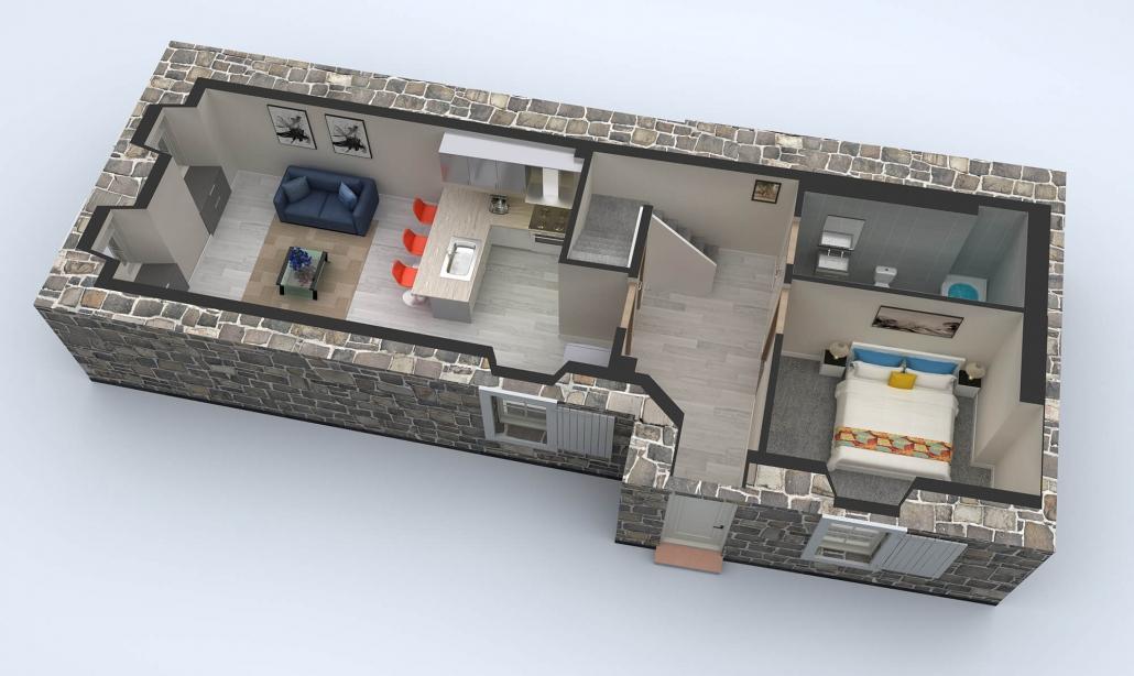 3d virtual floor Plan design