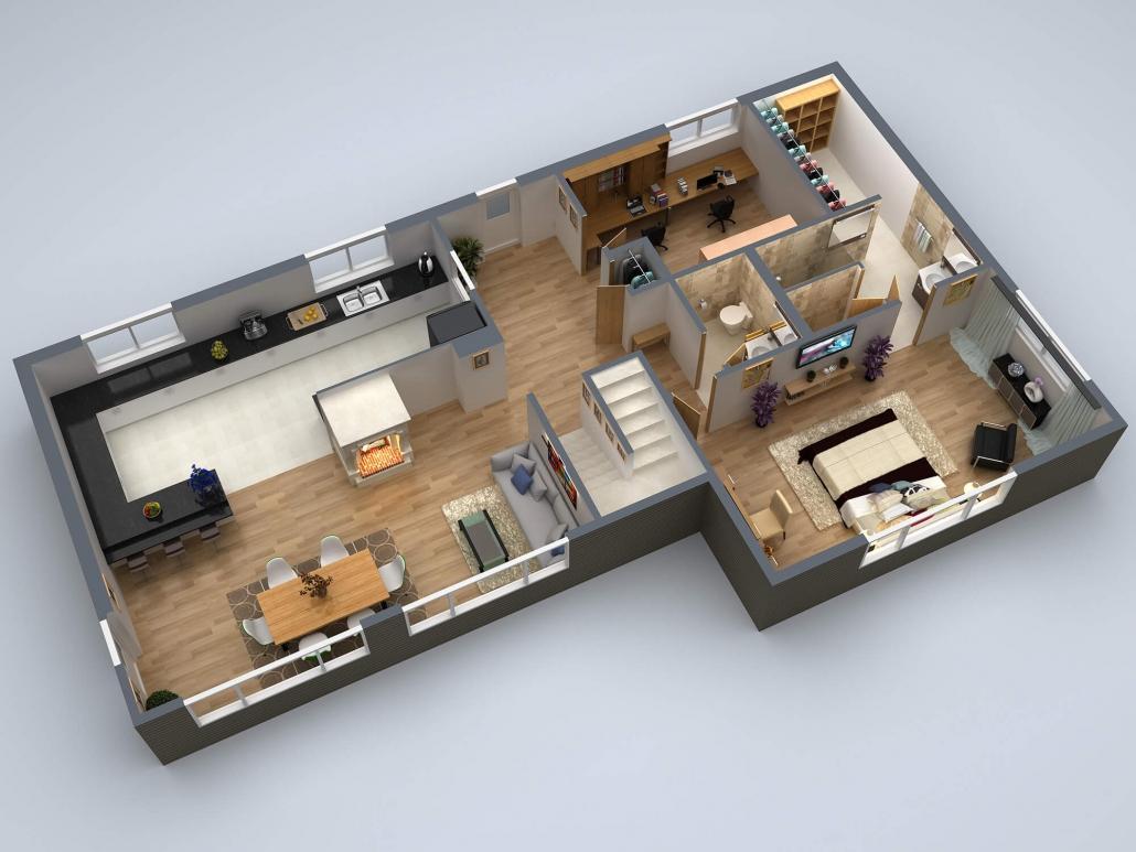 Best 3d floor plan rendering