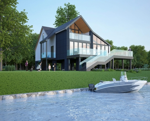 house rendering cost