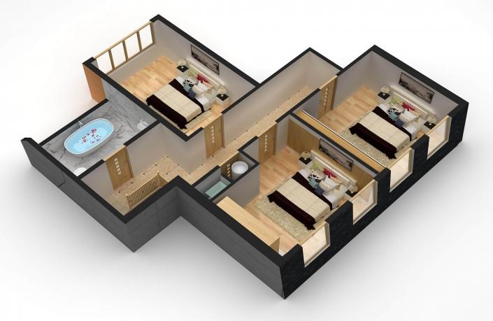 home plan 3d