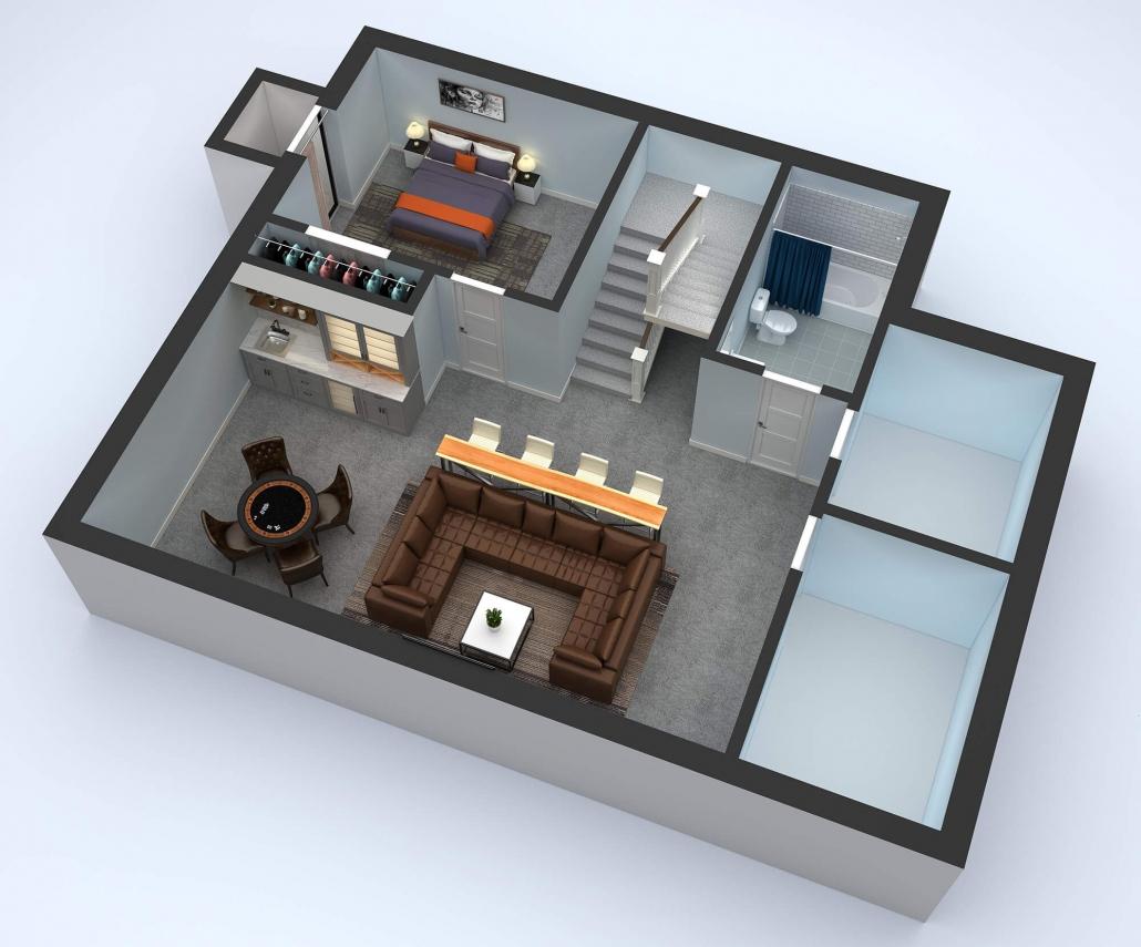 interactive 3d floor plan design