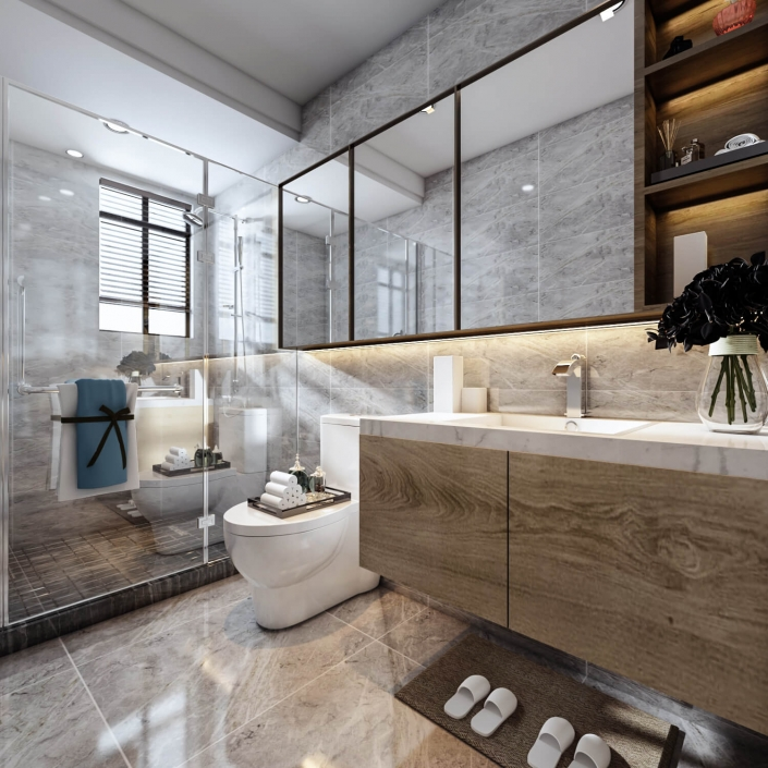 interior house design rendering