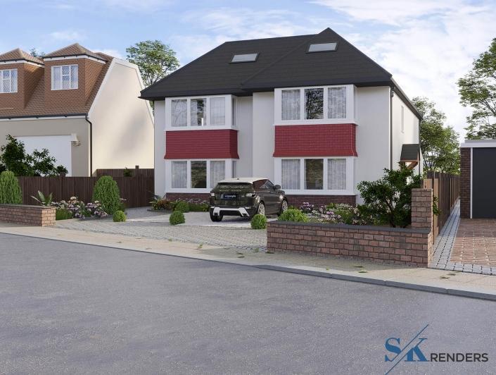 home rendering cost