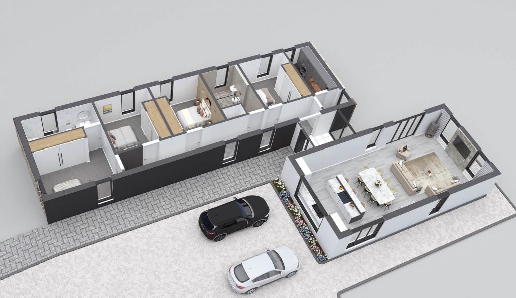 3d floor plan house