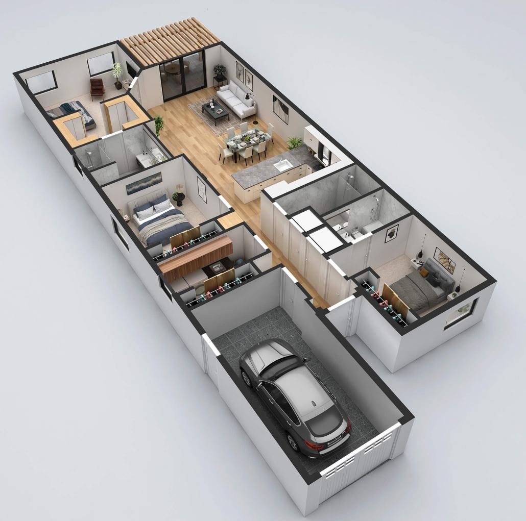 floor plan rendering services