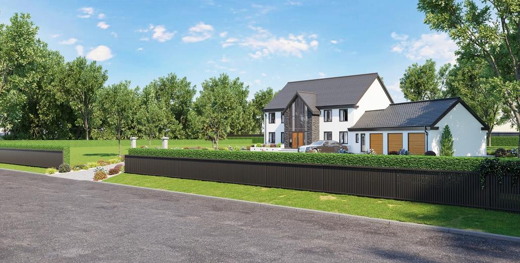 external house rendering
