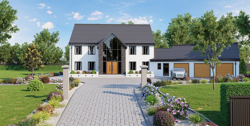 front of house rendering
