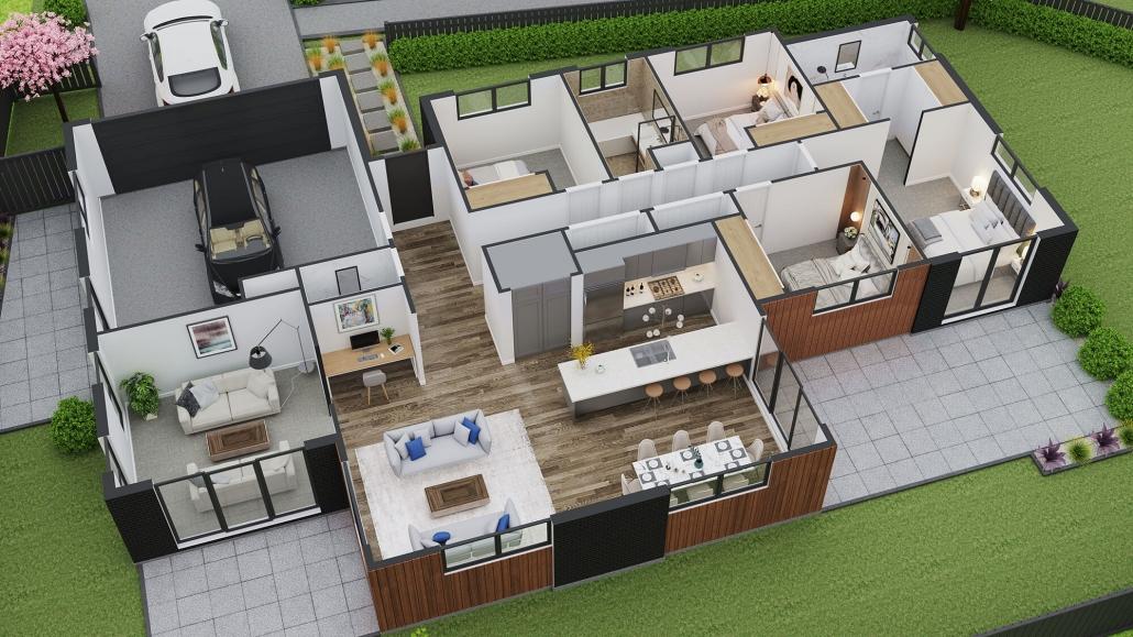 3d visualizer floor plan