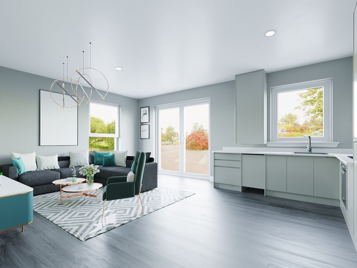 interior rendering cost