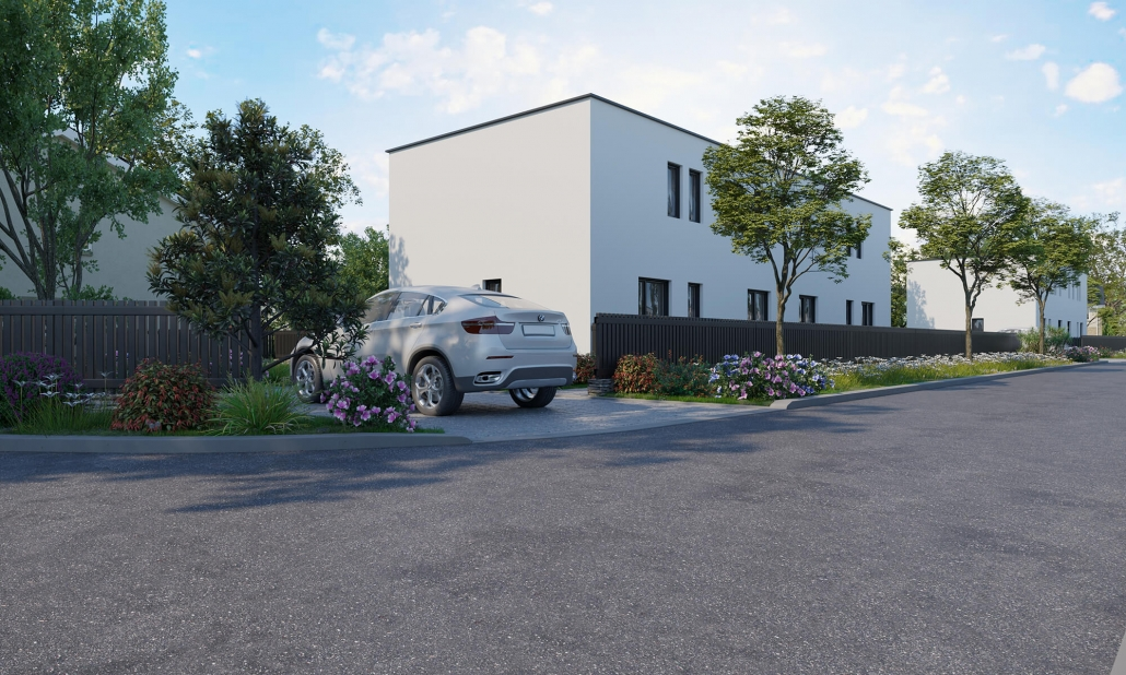 front house rendering