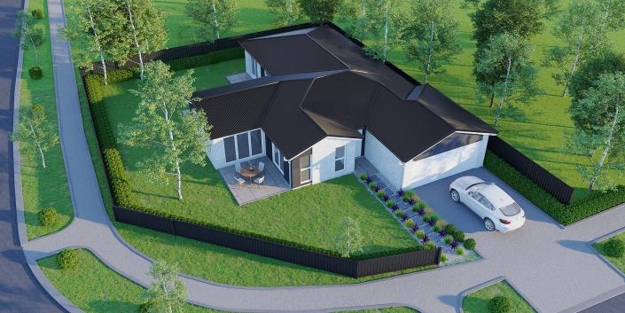 exterior rendering cost
