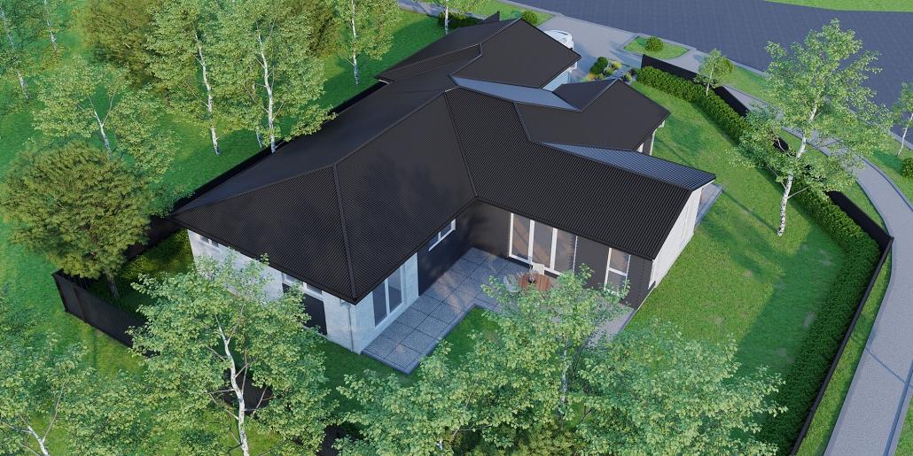 render house exterior